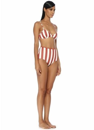 Solid & Striped Bikini Alt Krem